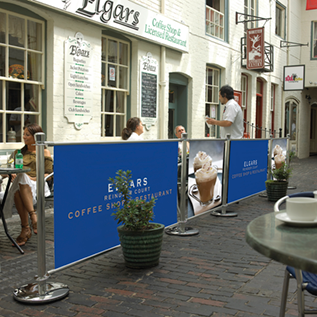 Café Banner Outdoors