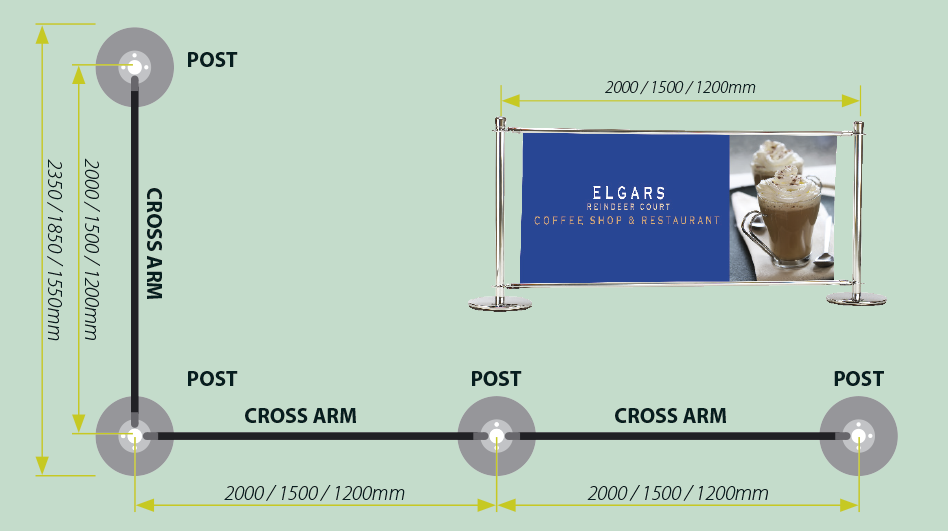 Cross Arm Diagram