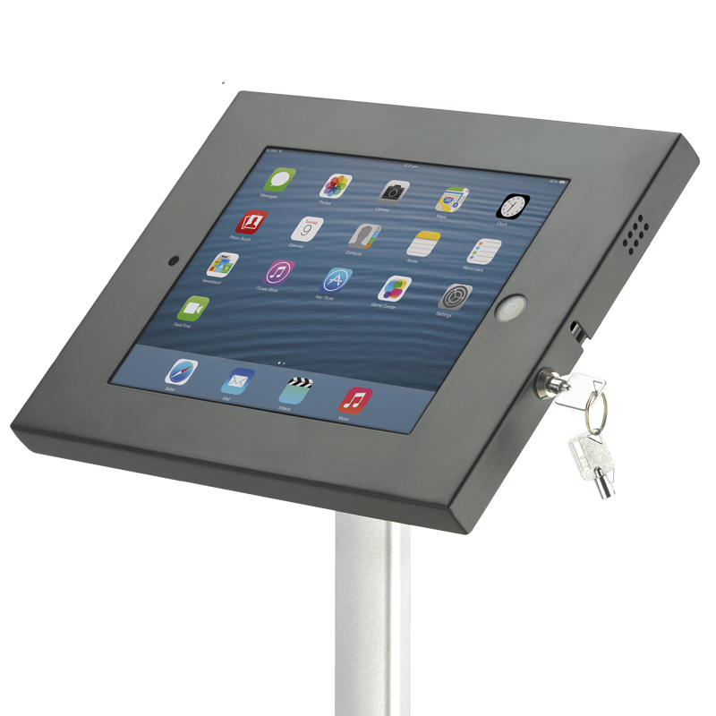 ipad holder lockable unit